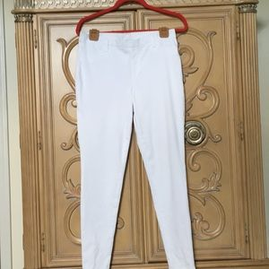 Faded Glory stretchy white jegging pants nwot12/14